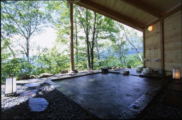 ペンションアゲイン自慢の温泉。 ※じゃらん泊まって良かった宿ランキング 風呂編入賞